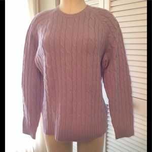 Gap wool blend cable knit sweater ,used